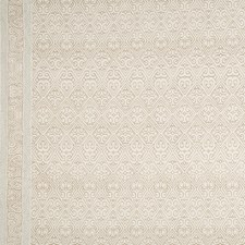 Linen/Beige Ethnic Decorator Fabric by Groundworks