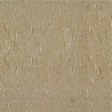 Linen/Off White Modern Decorator Fabric by Groundworks