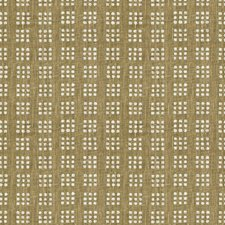 Linen/Off Wh Contemporary Decorator Fabric by Groundworks