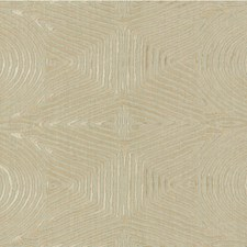 Ivory/Beige Contemporary Decorator Fabric by Groundworks