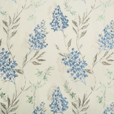 Grey/Blue Contemporary Decorator Fabric by Groundworks