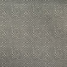 Charcoal Check Decorator Fabric by Groundworks