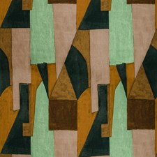 Tobacco Modern Decorator Fabric by Groundworks