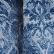 Sapphire Decorator Fabric by Scalamandre