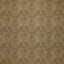Light Blue/Brown Botanical Decorator Fabric by Kravet