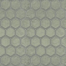 Brown/Taupe Geometric Decorator Fabric by JF