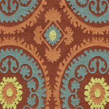 Antique Bronze Decorator Fabric by RM Coco
