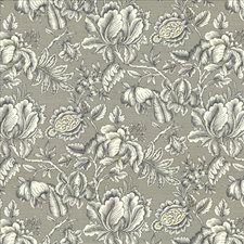 Graphite Decorator Fabric by Kasmir