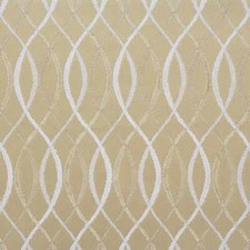 Beige/Snow Contemporary Decorator Fabric by Groundworks