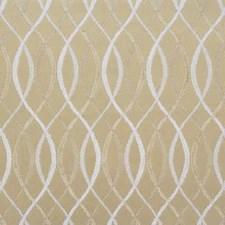 Beige/Snow Modern Decorator Fabric by Groundworks