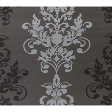 Grey Flannel Damask Decorator Fabric by Brunschwig & Fils