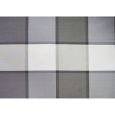 Argento Plaid Decorator Fabric by Brunschwig & Fils