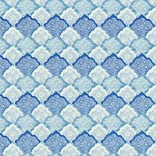Porcelain Blue Decorator Fabric by Scalamandre