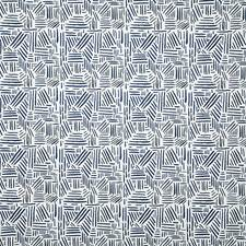 Indigo Contemporary Decorator Fabric by Pindler