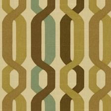 Beige/Brown/Green Ikat Decorator Fabric by Kravet
