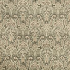 Taupe/Ivory/Pink Paisley Decorator Fabric by Kravet