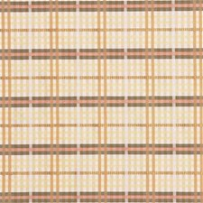 Praline Plaid Decorator Fabric by Laura Ashley