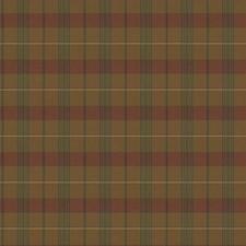 Brown/Burgundy Decorator Fabric by Ralph Lauren