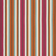 Multi/Orange/Rust Traditional Decorator Fabric by JF