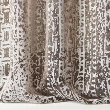 Grey/Silver Modern Decorator Fabric by Kravet