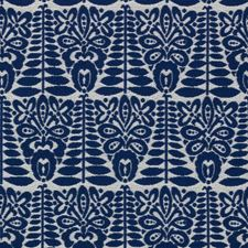 Indigo Decorator Fabric by RM Coco