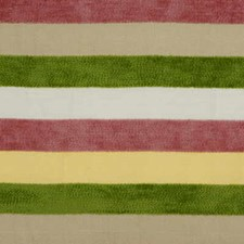 Maree Chenille-Pink/Sa Stripes Decorator Fabric by Lee Jofa