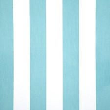 Aquamarine Stripe Decorator Fabric by Pindler