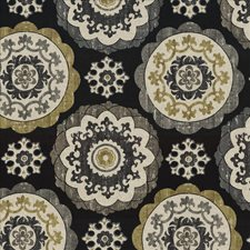Ebony Decorator Fabric by Kasmir