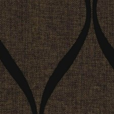 Chocolate/Black Decorator Fabric by RM Coco