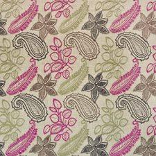 Raspberry Truffl Decorator Fabric by Kasmir