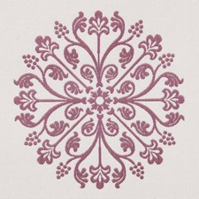 Orchid Damask Decorator Fabric by Pindler