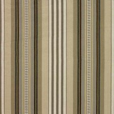 Taupe/Cream Stripes Decorator Fabric by Baker Lifestyle