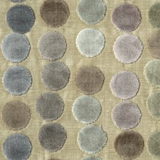 Soft Mauve/Taupe/Silver Dots Decorator Fabric by Baker Lifestyle