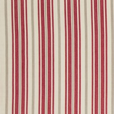 Blush Stripes Decorator Fabric by Baker Lifestyle
