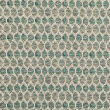 Aqua Decorator Fabric by Baker Lifestyle