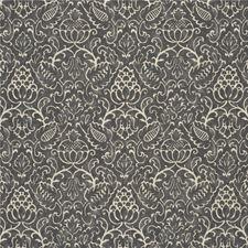 Smoke Botanical Decorator Fabric by Baker Lifestyle