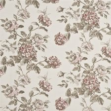 Antique Rose Print Decorator Fabric by Baker Lifestyle
