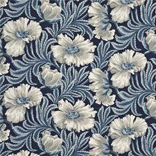Blue/Indigo Print Decorator Fabric by Baker Lifestyle