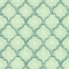 Aqua Small Scales Decorator Fabric by Baker Lifestyle