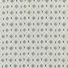 Indigo/Stone Print Decorator Fabric by Baker Lifestyle