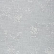 New White Decorator Fabric by RM Coco