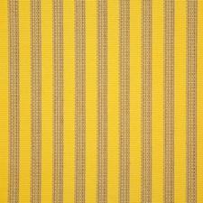 Lemon Stripe Decorator Fabric by Pindler