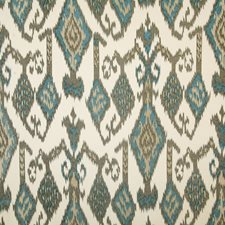 Teal Ethnic Decorator Fabric by Pindler