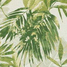 Jungle Green Botanical Decorator Fabric by Duralee
