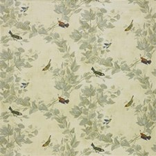 Beige Botanical Decorator Fabric by Kravet