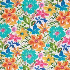 Cabana Blue Decorator Fabric by RM Coco