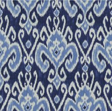 Blue/White Ethnic Decorator Fabric by Kravet