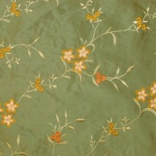 Teal Decorator Fabric by RM Coco
