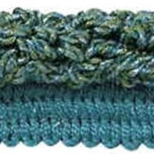 Rouche Green/Blue Trim by Kravet