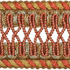 Braids Terra Cotta Trim by Kravet